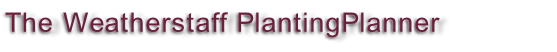 The Weatherstaff PlantingPlanner Intelligent Garden Design Software
