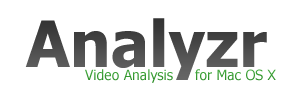 Analyzr: Video Analysis for Mac OS X
