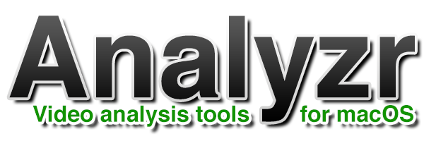 Analyzr: Video Analysis for macOS